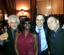 Freespirit as as  quartet in Monte Carlo, Bar Americain, Hotel de Paris
