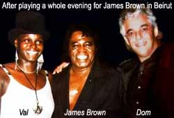 When Freespirit entertained James Brown for a whole evening - Casino du Liban - Beirut