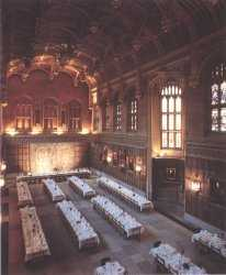Kings College, The Great Hall, Cambridge