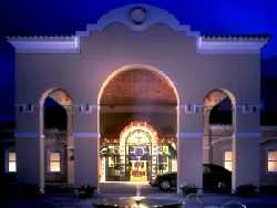 Entrance of the Hyatt Regncy, La Manga Club, Spain.