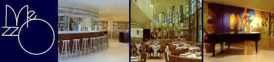 Conran's restaurant Club, the Mezzo, Soho, London. A regualr of ours.